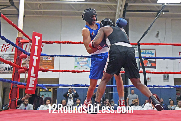Bout #11:  Sunny Thind, King of the Ring BC, Ontario, Canada   vs   Charles Smith, Empire Boxing Club, Cleveland, OH  -  200 Lbs.