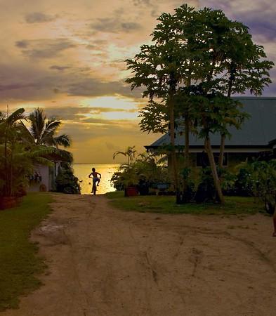 Moorea, Tahiti - New Year 2005