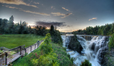 Kakabeka Falls in the evening, Thunder Bay