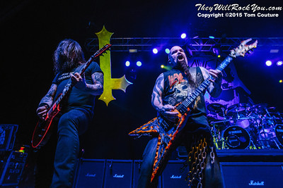 Slayer <br> June 18, 2015 <br> The State Theatre - Portland, ME <br> Photos by: Tom Couture