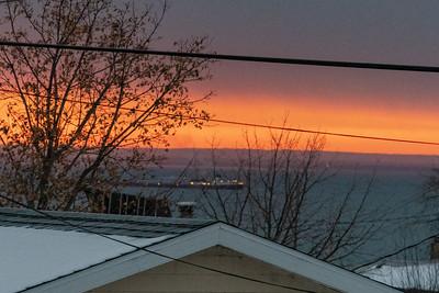 2020 11 12: Orange Morning Sky