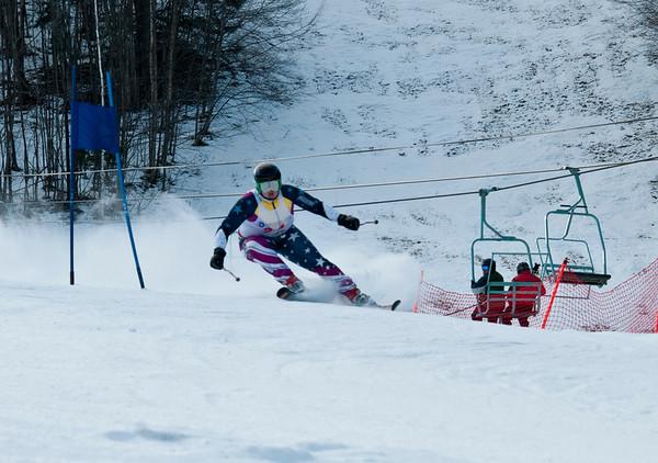 WUHS Alpine Ski Team at Suicide 6