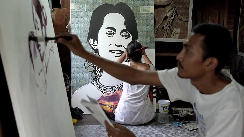 Painters Myanmar