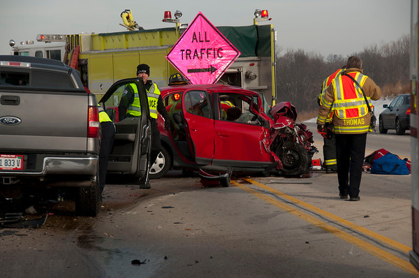 Rutland-Dundee FPD Extrication Accident - Dec. 9, 2010