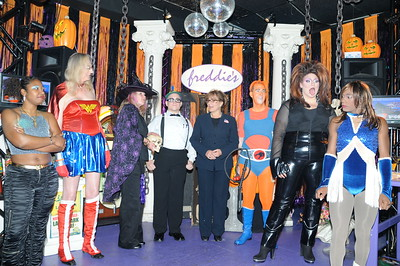 10-31-2008 Halloween @ Freddies, Arlington, VA