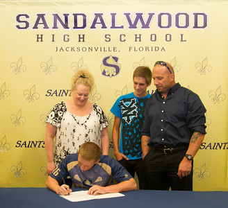 Sandalwood High School Lacrosse Awards Ceremony May 16, 2013
