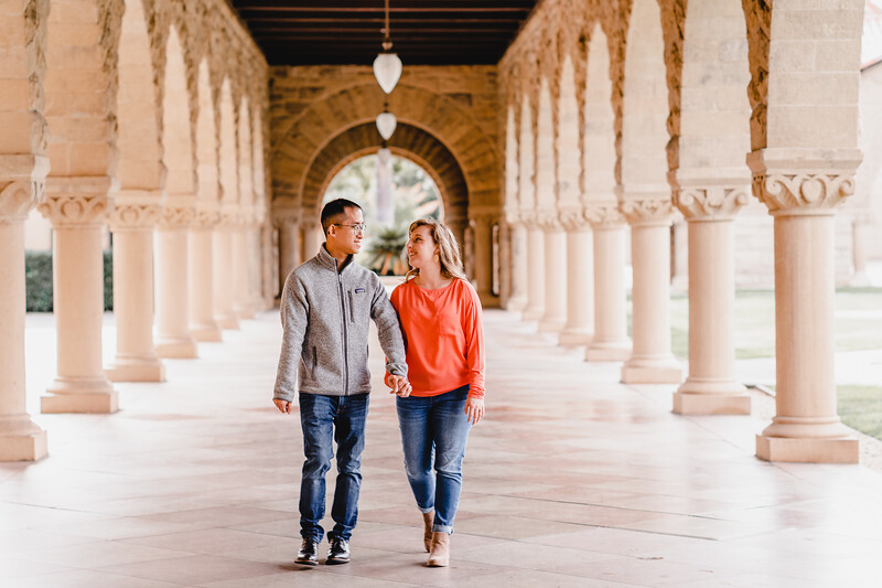 Beautiful Stanford Engagement Session | Stanford, CA