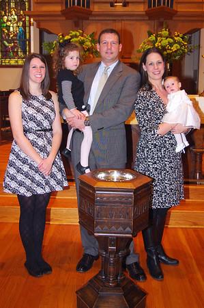 Walsh Baptism Feb 2014