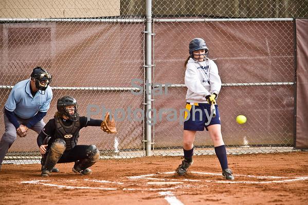 CHS at UHS softball (03-19-09