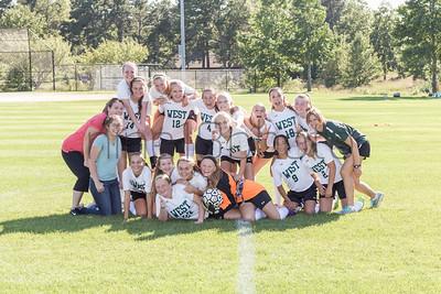 Sturgis West Varsity Girls Soccer (vs. Sturgis East)(2015)