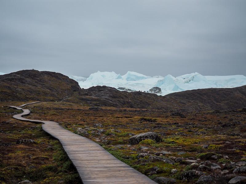 Boardwalk to the Ilulissat Icefjord