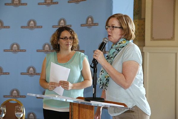 Sac Press Club scholarship awards and discussion of mental health issues 05 21 15
