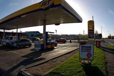 Jet Fuel Station Bow Road 2016