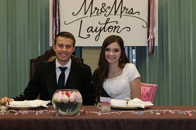 2013 JD and Rachael layton - Wedding Luncheon 11-23-13