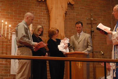 Riley's Baptism December 2008