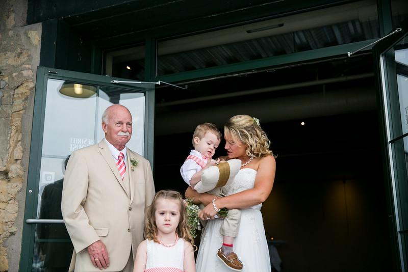 Prairie St. Brewhouse Wedding Dock Ceremony
