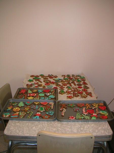 Gingerbread Making