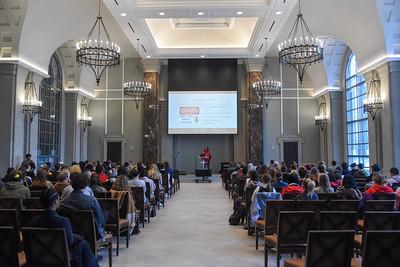 Dr. Kimberly Battle-Walters Denu speaks in Chapel