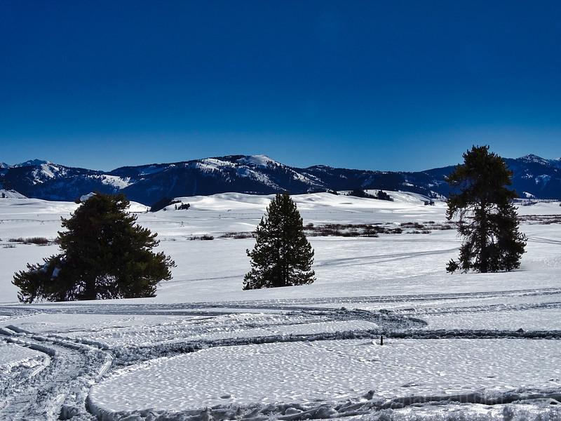 Salmon River Valley Snow Shine