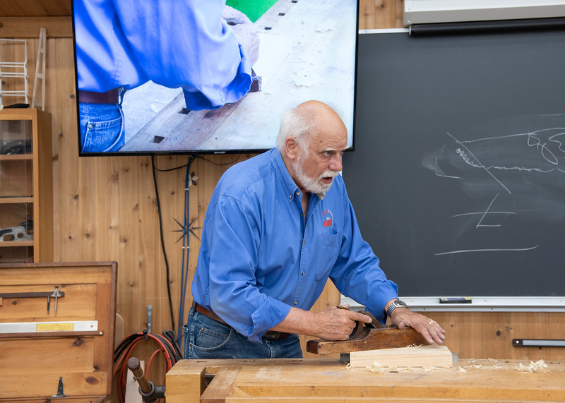 Woodworking Unplugged:  Handtool Essentials with Graham Blackburn