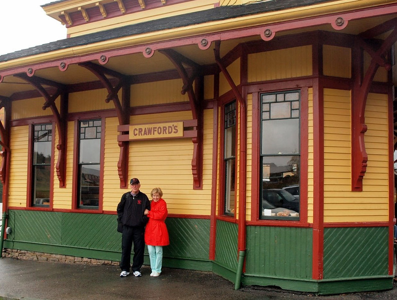 Mike & Linda - Conway Scenic Railway Trip, New Hampshire