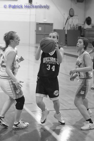2011-01-07 Lady's JV And Varsity Basketball