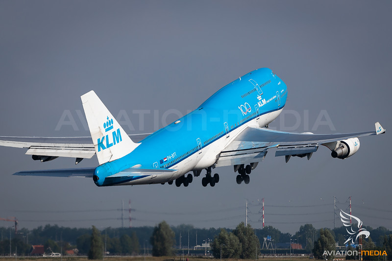 KLM / Boeing 747-400 / PH-BFT