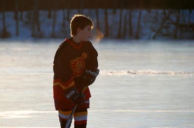 February 16, 2008 - Pond Skating