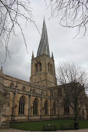St Mary and All Saints  Parish Church, Chesterfield - 13 February 2016