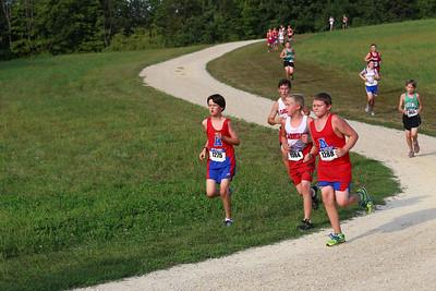Middle School Races: 9-04-2013