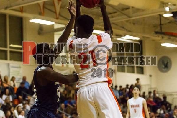 Boys Varsity Basketball #21 - 2016