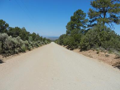 Lama Mt Road Hike July 31, 2012