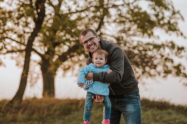 Magdalenka s tatinkem