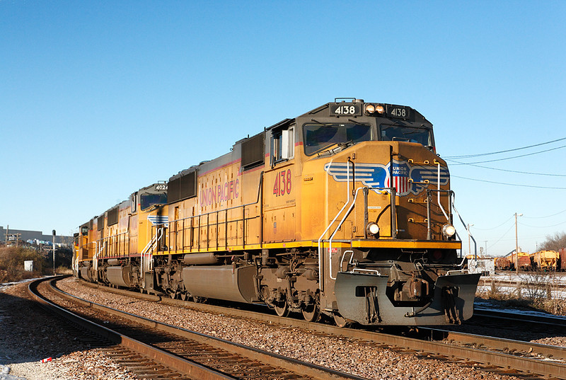 Union Pacific 4138 (GMD SD70M) - Butler Yard