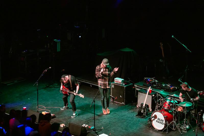 2019 Nov 6, Bear Hands - The Fillmore Detroit: Usaf Alcodray