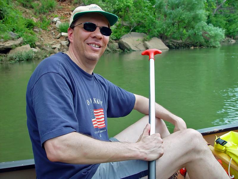 Scott Thomas posing for a pic.