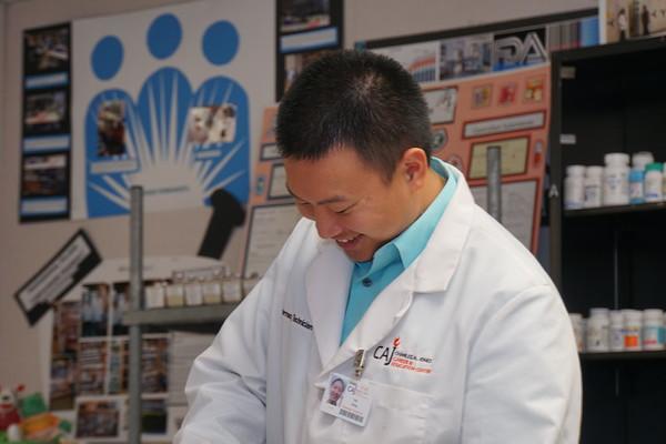 SCAE CAJ Pharmacy Tech