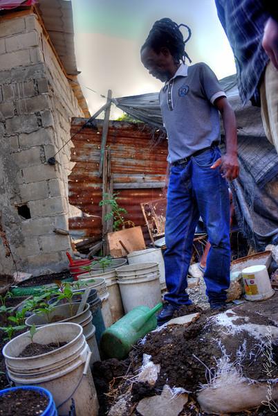 MicroGarden Initiative in the poorest neighbourhood of Port au Prince Haiti