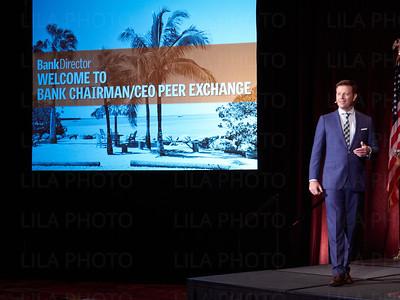 Bank Chairman/CEO Peer Exchange