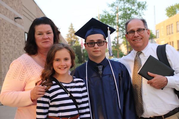 Marquette Catholic High School Graduation 2021