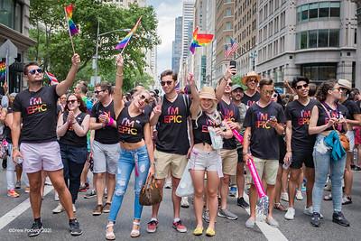 NYC Pride Parade 2017 - Time Warner HBO
