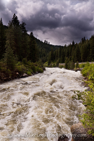 Bouncer Down the Middle on the North Fork Payette River around 9,000cfs. Idaho