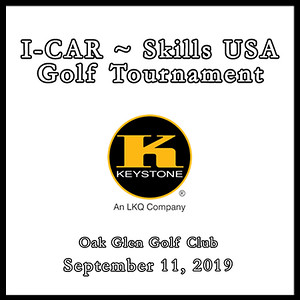 I-Car ~ Skills USA Golf Tournament September 11, 2019