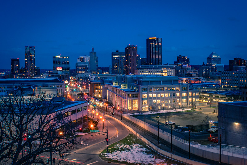 Blue Hour in St. Paul
