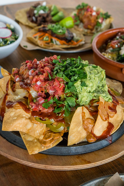 Vegetarian Nachos at Pablo y Pablo