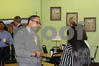 2/18/14 Hispanic Business Alliance Hosts Coffee With The Candidates by Susan Wells