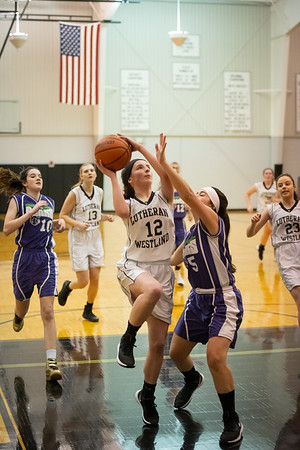 Lutheran Westland Girls JV Basketball