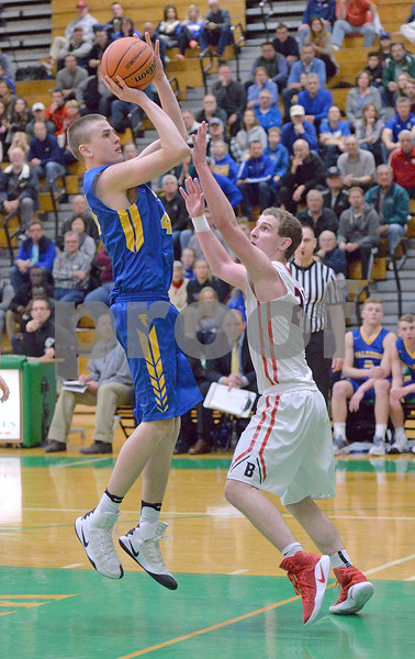 Wheaton North and Naperville North battled for the championship in the Class 4A boys basketball sectional final at Hinsdale Central.