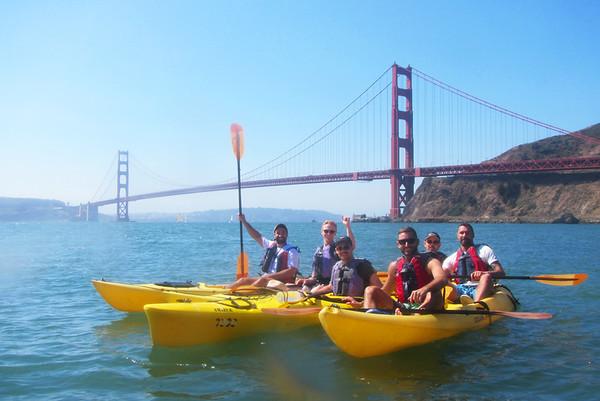 Sausalito Kayaking: Sep 10, 2017