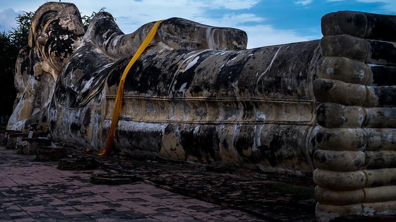 Ayyuthaya-Reclining Buddha